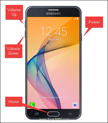 Galaxy J7 Prime Reset Keys