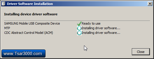 Installing Samsung Device Drivers