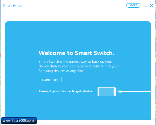 Samsung Smart Switch First Run