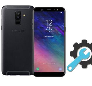 Factory Reset Samsung Galaxy A6 Plus