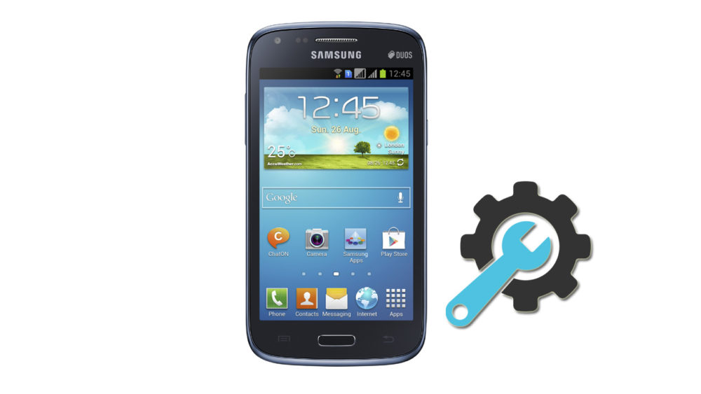 Factory Reset Samsung Galaxy Core Duos GT-i8262