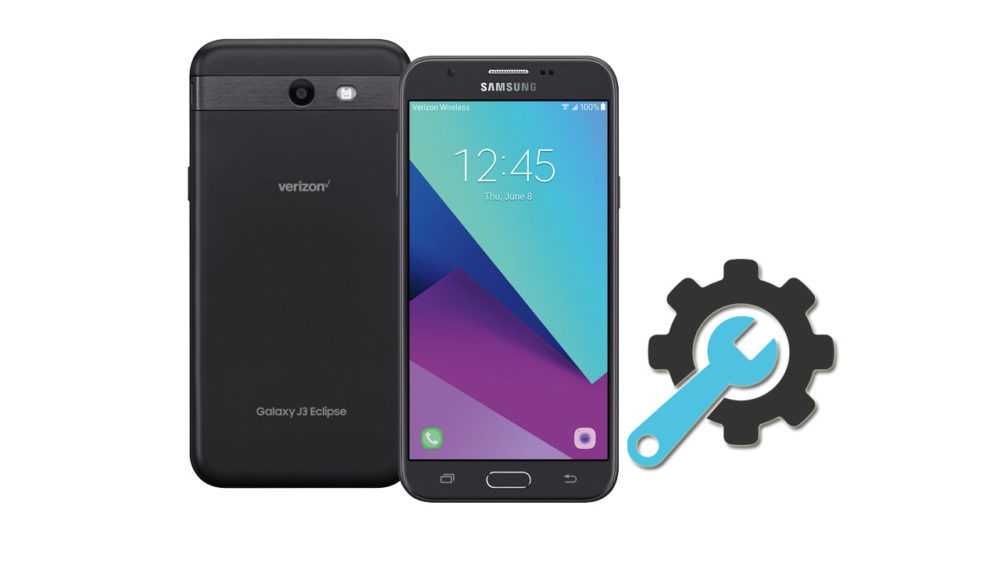 Factory Reset Samsung Galaxy J3 Eclipse SM-J327V