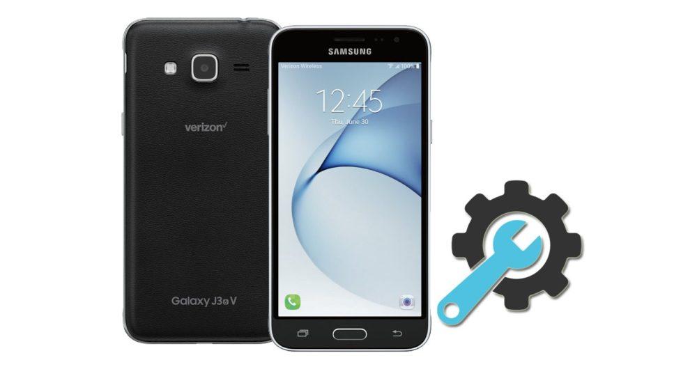 Factory Reset Samsung Galaxy J3 V SM-J320V