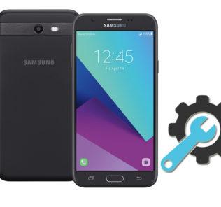 Factory Reset Samsung Galaxy J7 Perx SM-J727P