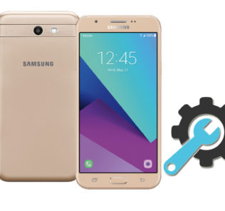 Factory Reset Samsung Galaxy J7 Prime SM-J727T