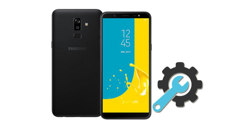 Factory Reset Samsung Galaxy J8