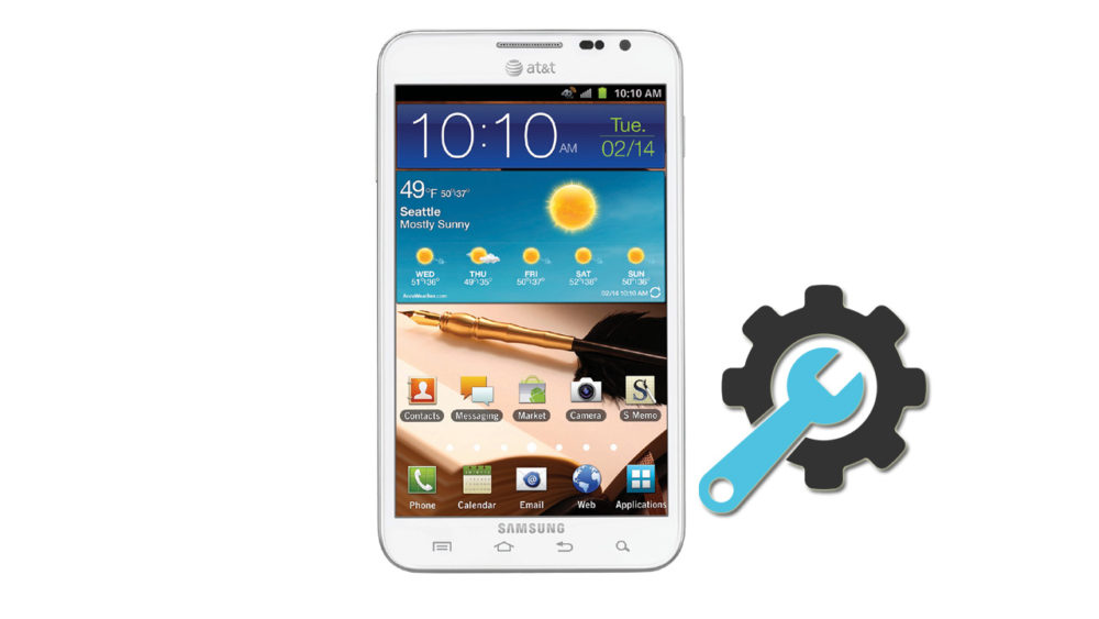 Factory Reset Samsung Galaxy Note SGH-I717
