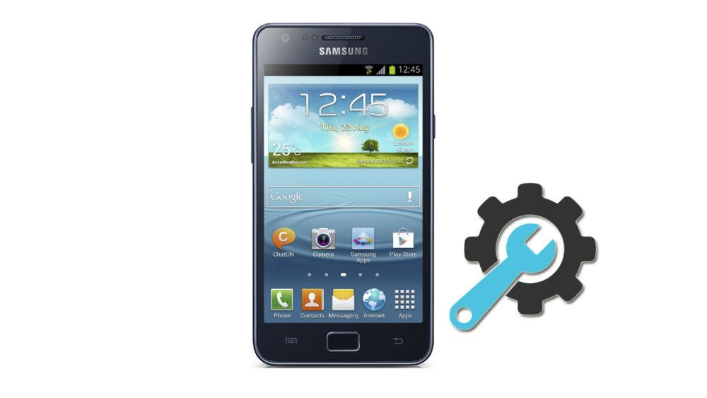 Factory Reset Samsung Galaxy S2 GT-I9100
