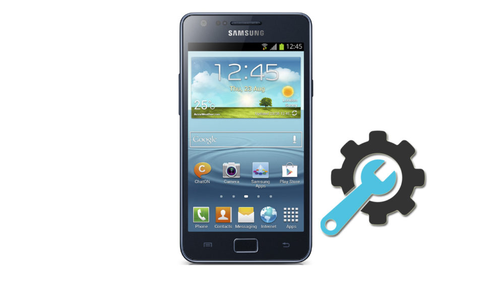 Factory Reset Samsung Galaxy S2 Plus GT-I9105
