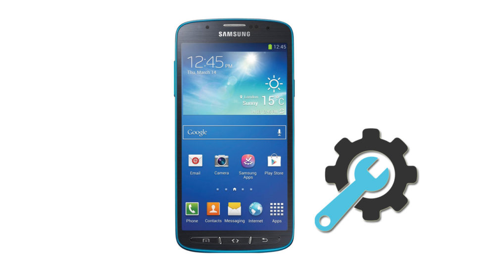 Factory Reset Samsung Galaxy S4 Active SGH-I537