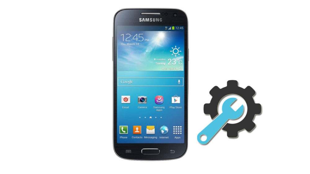 Factory Reset Samsung Galaxy S4 Mini GT-I9190
