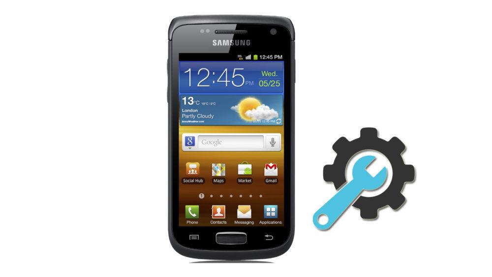 Factory Reset Samsung Galaxy W GT-i8150