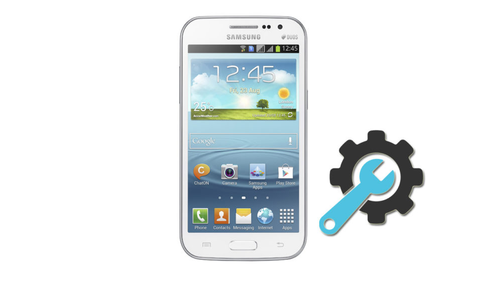 Factory Reset Samsung Galaxy Win Duos GT-i8552