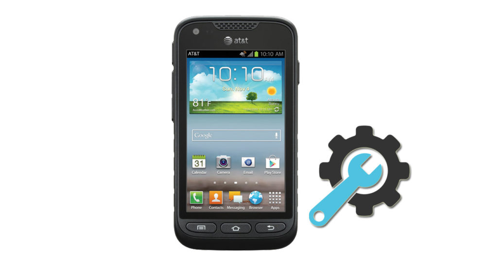 Factory Reset Samsung Galaxy Rugby Pro SGH-i547