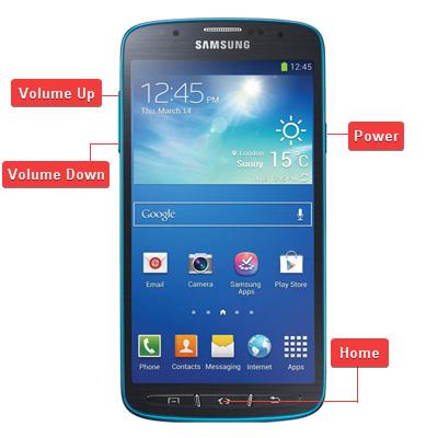 Reset Samsung Galaxy S4 Active SGH-I537