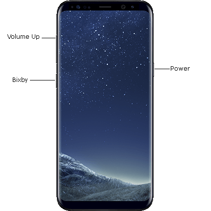 Galaxy S8 Plus Reset Buttons