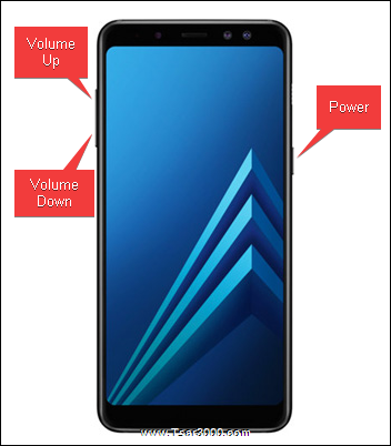 Samsung Galaxy A8 2018 Hardware Keys