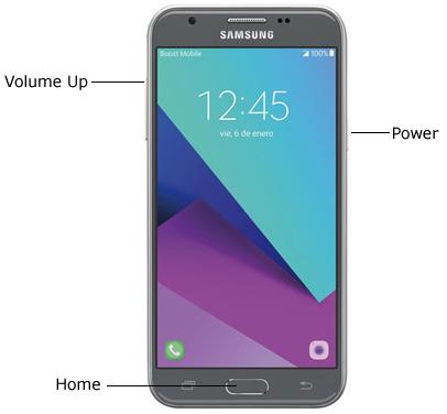 Reset Galaxy J3 Emerge SM-J327P