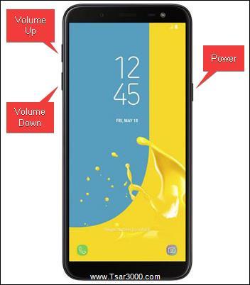 Reset Samsung Galaxy J6