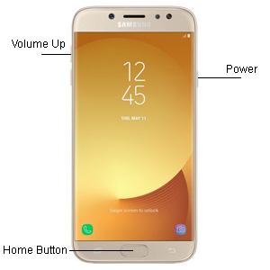 Reset Samsung Galaxy J7 Pro