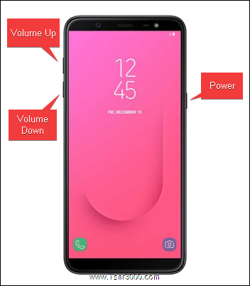 Samsung Galaxy J8 Hardware Keys