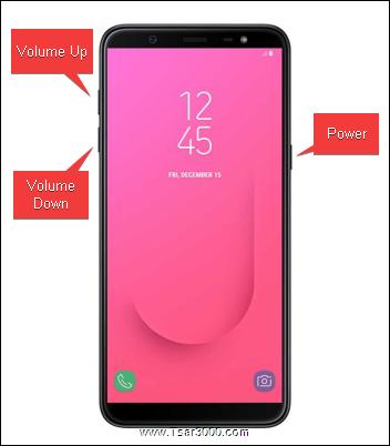 Reset Samsung Galaxy J8