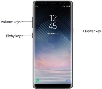 Reset Samsung Galaxy Note8