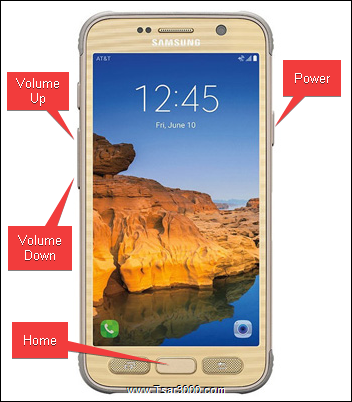 How To Factory Reset Samsung Galaxy S7 Active SM-G891A