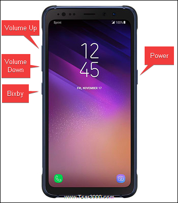 Reset Galaxy S8 Active SM-G892A