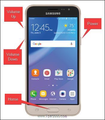 Reset Samsung Galaxy Sol SM-J321AZ