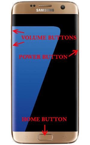 Reset Samsung Galaxy S7 Edge