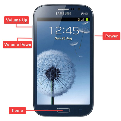 Samsung GT-i9082 Galaxy Grand Duos Buttons