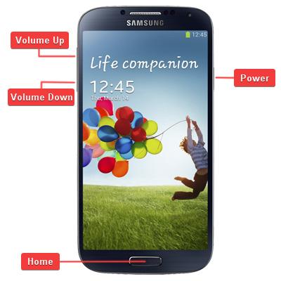 Samsung SGH-M919 Galaxy S4 Buttons