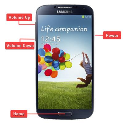 Samsung SGH-i337 Galaxy S4 Buttons