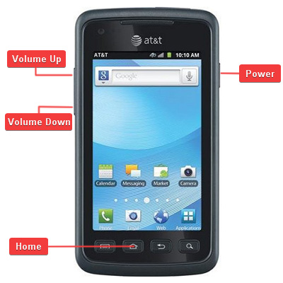 Samsung SGH-i847 Rugby Smart Buttons