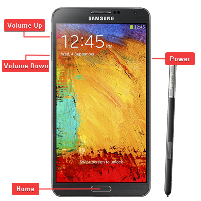 Samsung SM-N9005 Galaxy Note 3 Buttons
