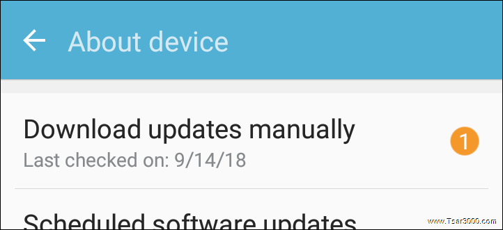 Samsung Dowload Update Manually