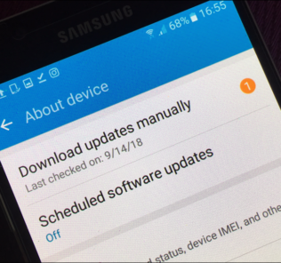 Update Samsung Software Over-The-Air