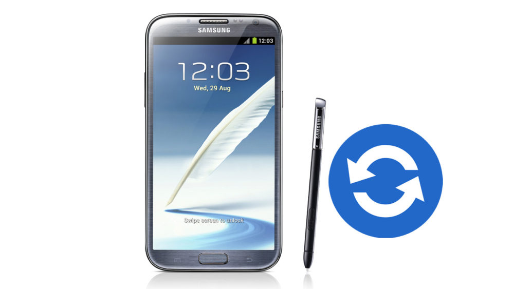 Update Samsung Galaxy Note 2 GT-N7100 Software