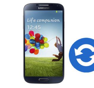 Update Samsung Galaxy S4 GT-I9505 Software