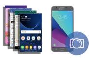 Screenshot on Samsung Galaxy J7 V SM-J727V