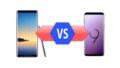 Samsung Galaxy Note 8 vs Samsung Galaxy S9