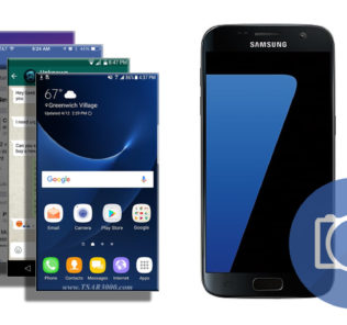 Take a Screenshot on Samsung Galaxy S7