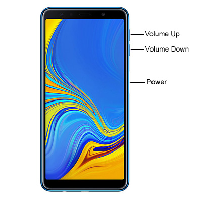 Samsung Galaxy A7 2018 Hardware Keys