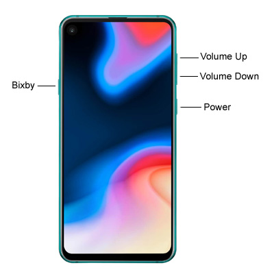 Samsung Galaxy A8s Hardware Keys