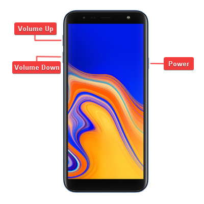 Samsung Galaxy J4 Plus Hardware Buttons
