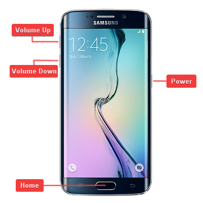 Samsung Galaxy S6 Edge Hardware Buttons