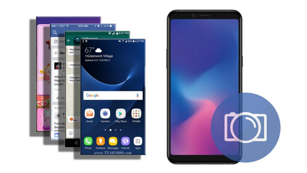 Take a Screenshot Samsung Galaxy A6s