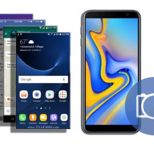 Take a Screenshot Samsung Galaxy J6 Plus