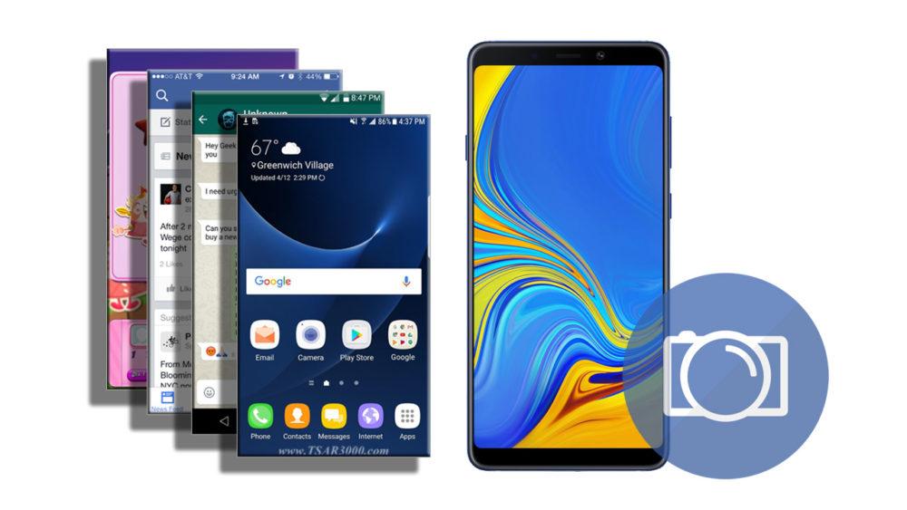 Take a Screenshot on Samsung Galaxy A9 2018